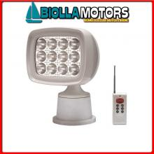2123660 FARO SQUARE ALL REMOTE LED 12X3W Faro AA LED Radio Control 1600