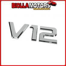 98123 LAMPA EMBLEMI MOTORE 3D CROMATI - 92X210 MM - V12