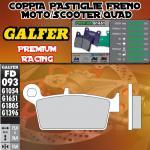 FD093G1651 PASTIGLIE FRENO GALFER PREMIUM POSTERIORI AJP PR 5 SUPERMOTO 250 09-10