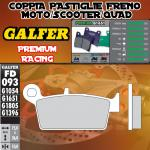 FD093G1651 PASTIGLIE FRENO GALFER PREMIUM POSTERIORI RIEJU MRX 450 05-