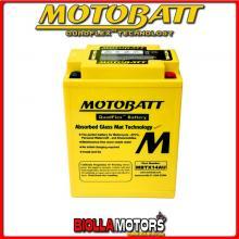 MBTX14AU BATTERIA MOTOBATT 12N14-3A AGM E06024 12N143A MOTO SCOOTER QUAD CROSS