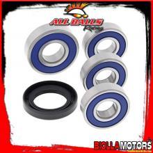25-1598 KIT CUSCINETTI RUOTA POSTERIORE Honda CBF 250 250cc 2004- ALL BALLS