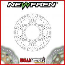 DF5104AF DISCO FRENO ANTERIORE NEWFREN KAWASAKI KX 125cc 2003-2005 FLOTTANTE