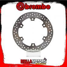 68B407A6 FRONT BRAKE DISC BREMBO HONDA FORZA ABS 2015- 125CC FIXED
