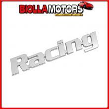 07208 PILOT EMBLEMA 3D CROMATO - RACING