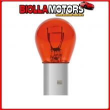 58059 PILOT 12V RED DYED GLASS, LAMPADA 2 FILAMENTI - (P21/5W) - 21/5W - BAY15D - 2 PZ - D/BLISTER