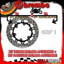 KIT-ZLUC DISCO E PASTIGLIE BREMBO ANTERIORE KTM LC8 ADVENTURE R 990CC 2010-2012 [GENUINE+FLOTTANTE] 78B408A5+07BB0335