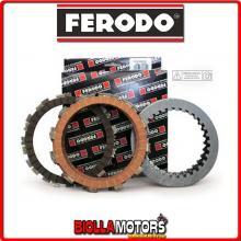 FCS0593/3 SERIE DISCHI FRIZIONE FERODO CAGIVA ALETTA 125 ORO S2 125CC 1986- CONDUTTORI + CONDOTTI RACE