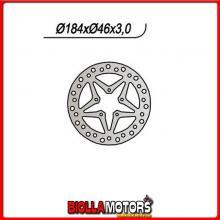659668 DISCO FRENO ANTERIORE NG HM Baja 10 / 10 Junior 50CC 2003/2005 668 184-?-46-3-5-6,5
