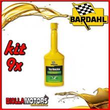 KIT 9X 250ML BARDAHL TOP BENZINA ADDITIVO PER INIETTORI 250 ML - 9x 107019