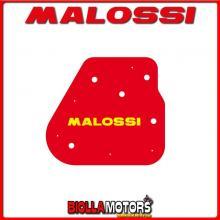 1414044 SPUGNA FILTRO ARIA MALOSSI GARELLI GSP 50 2T LC EURO 2 (1PE40MB) RED SPONGE PER FILTRO ORIGINALE -