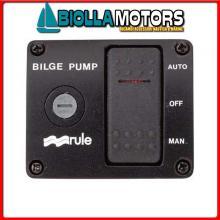 1823037 PANNELLO BILGE RULE FAIL SAFE 12V Pannello Controllo Rule Fail-Safe