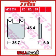 MCB535EC PASTIGLIE FRENO POSTERIORE TRW REX 50 Monaco 2012- [ORGANICA- EC]