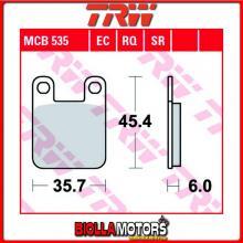 MCB535 PASTIGLIE FRENO POSTERIORE TRW REX 50 Monaco 2012- [ORGANICA- ]