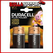 DC4023253 DURACELL DURACELL PLUS POWER, TORCIA ?D?, 2 PZ