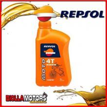 REPSOL29 1 LITRO OLIO REPSOL MOTO RIDER 4T 10W40 1LT