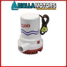1821015 POMPA WWB 1500GPH 12V Pompe di Sentina BW M-Pump