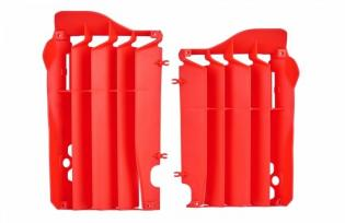 P8455700002 GRIGLIE PROTEZIONE RADIATORE ROSSO HONDA CRF 250 R 2014-2015