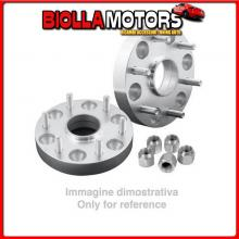 48703 PILOT KIT 2 DISTANZIALI 4X4 - 30 MM - M3 JEEP COMMANDER (04/06>01/08)