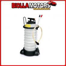 72134 LAMPA EXTRACTOR, POMPA MANUALE PER ASPIRARE OLIO E LIQUIDI - 18 L