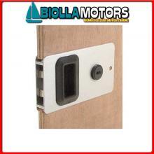 0344511 SERRATURA MOBELLA ENTRY LACCATA WHITE Serratura a Filo Mobella Flush Entry