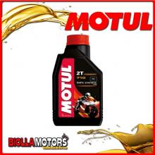 104034 1 LITER BOTTLE 100% SYNTHETIC OIL MOTUL 710 2stroke engine