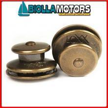 3214221 BOTTONE TESTA LOXX/TENAX BRASS GOLD Teste Bottone Loxx - Tenax Speciali