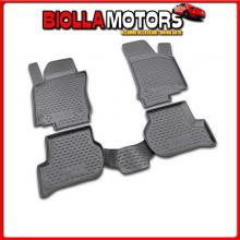 NV00535 NOVLINE SET TAPPETI SU MISURA IN TPE - VOLKSWAGEN GOLF VI 3P (11/08>10/12) FIX ROTONDI INTEGRATI