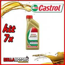 KIT 7X LITRO OLIO CASTROL EDGE 5W30 LT1 - 7x EDGE 5W30