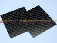 213.0605 SET LASTRE IN FIBRA DI CARBONIO mm.110X110 SP.0,33