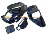 STR-990/BL SET CARENE BOOSTER STR8 blu metallizzato (4 pezzi)
