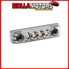 98382 LAMPA LUCE PERIMETRALE A 4 LED, 24V - BIANCO