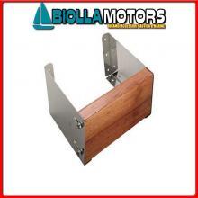 0520826 SUPPORTO MOTORE REGOLABILE INOX Supporto Motore Regolabile 22°/35°