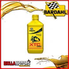 326141 1 LITRO OLIO BARDAHL XTC C60 10W40 LUBRIFICANTE PER MOTO 4T 1LT