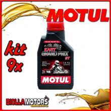 KIT 9X LITRO OLIO MOTUL Kart Grand Prix 2T - 9x 105884