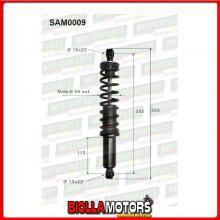 SAM0009 COPPIA AMMORTIZZATORI POSTERIORI MICROCAR CASALINI YDEA 2000 F2107000025 (MK009)