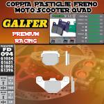 FD094G1651 PASTIGLIE FRENO GALFER PREMIUM ANTERIORI DAELIM ET 300 QUAD 07-