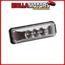 98874 LAMPA LUCE INGOMBRO A 3 LED, 24V - BIANCO