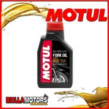 105924 1 LITRO OLIO MOTUL FORK OIL FACTORY LINE LIGHT 5W FORCELLA