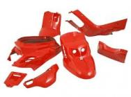 STR-993/RE SET CARENE 5pezzi BOOSTER 2004 rosso