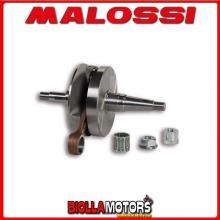 5317510 ALBERO MOTORE MALOSSI VALVOLA ROTANTE VESPA COSA 125 2T CORSA 57 - SP.15 - BIELLA 105