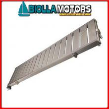 0606018 PASSERELLA FIX 200 ALU Passerella Fissa in Alluminio