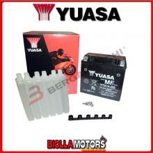 E01141K BATTERIA YUASA YTX14-BS SIGILLATA CON ACIDO YTX14BS MOTO SCOOTER QUAD CROSS