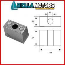 5125306 ANODO MOTORE JOHN/EVIN Cubo V4/V6