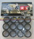 S6-GS19ET SET COPRI RULLI STAGE6 19 x 15,5