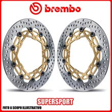 208973710 KIT DISCHI FRENO BREMBO SUPERSPORT BIMOTA BB3 1000cc 2014> Ø320