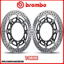 208A98510 KIT DISCHI FRENO BREMBO T-DRIVE BENELLI All models cc - Ø320