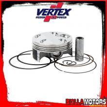 22889B PISTONE VERTEX 76,95mm 4T HC FANTIC MOTOR TF250 ES Compr 13,5:1 - 3 RINGS 2012-2014 250cc (set segmenti)