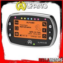 A1060 STRUMENTAZIONE ALFANO 6 LAP TIMER GPS RPM TEMPERATURA CONTAORE