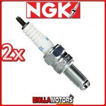 2 CANDELE NGK CR8EK SUZUKI DL-V-Strom 1000CC 2002- CR8EK